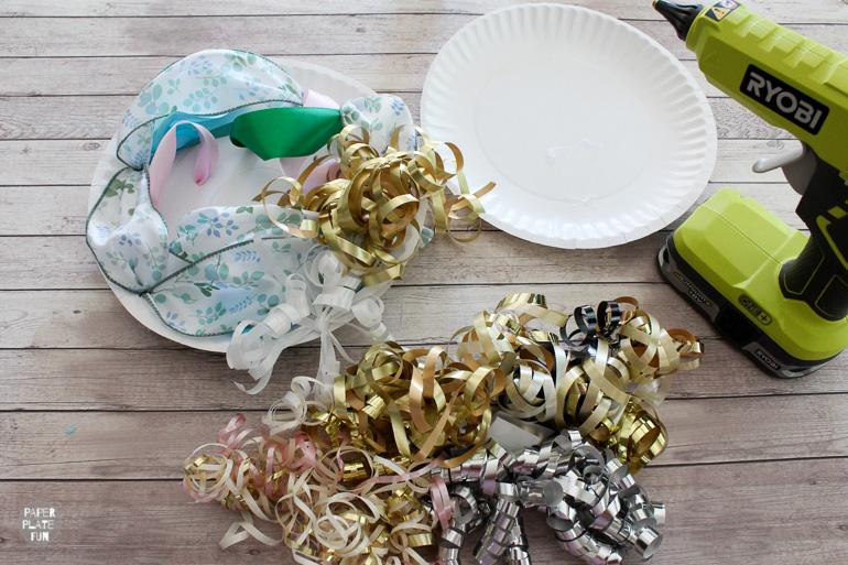 Learn how to use ribbon and bows from the bridal shower to create a beautiful bow-quet for the wedding rehearsal.